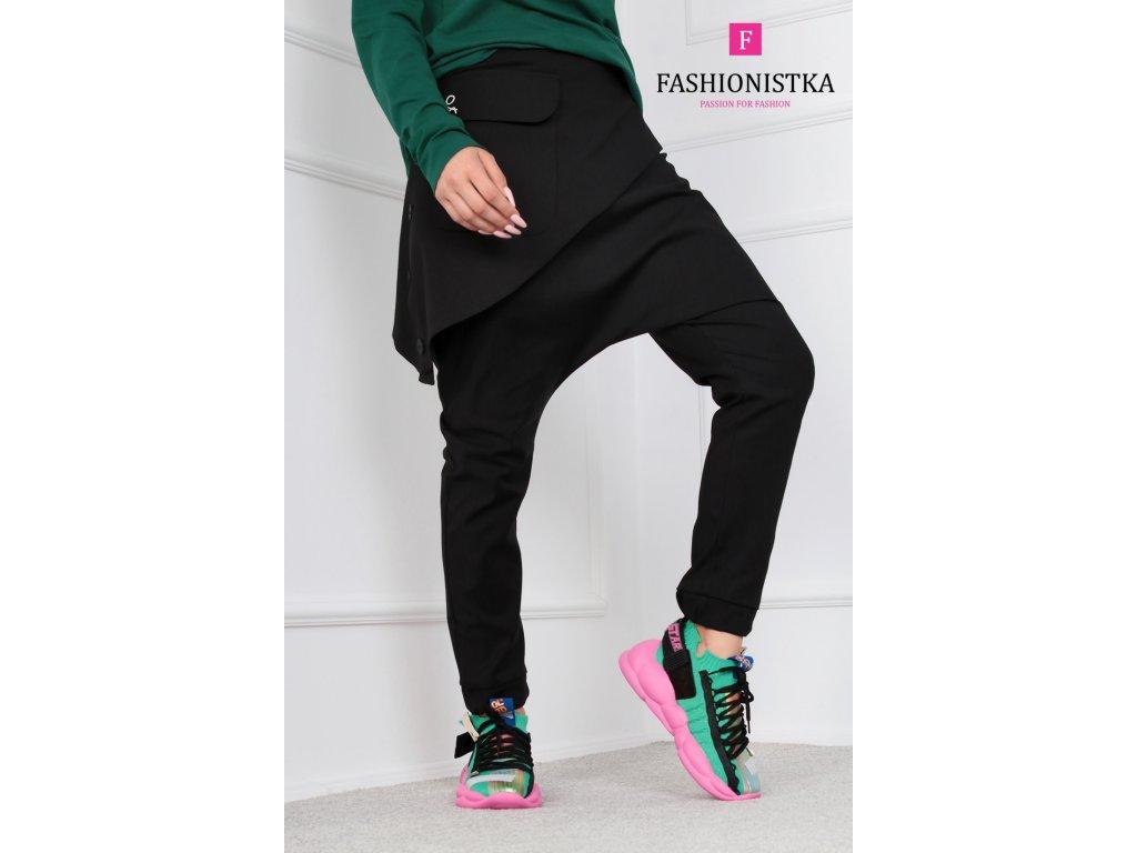 černé kalhoty ONE