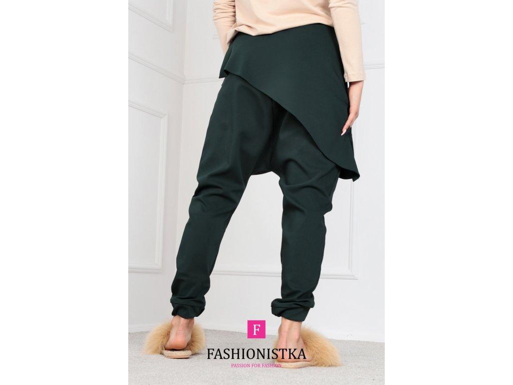 zelené kalhoty ONE