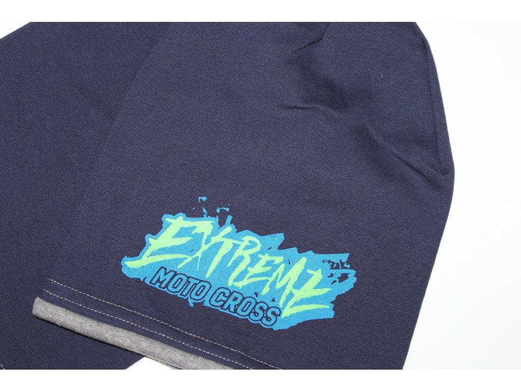 SET čepice s nákrčníkem EXTREME tmavě modrá
