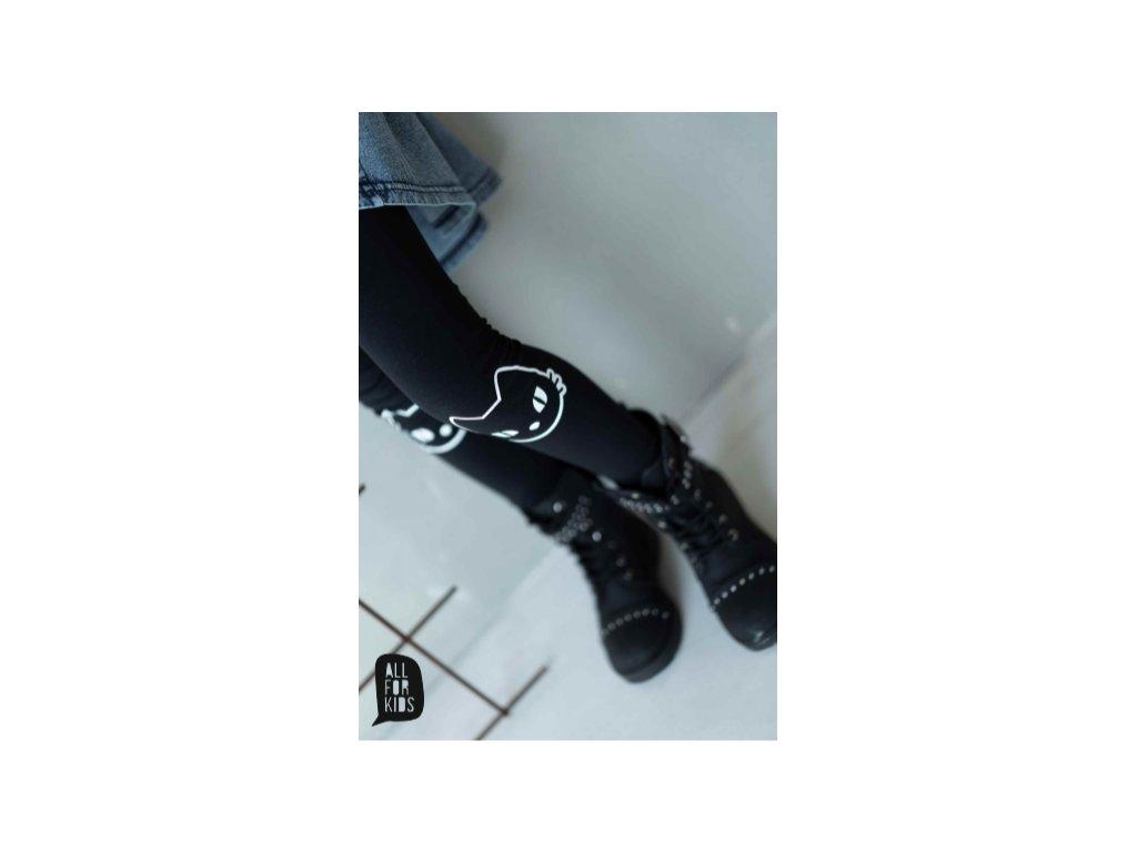 Fashionistka: LEGÍNY CAT černé