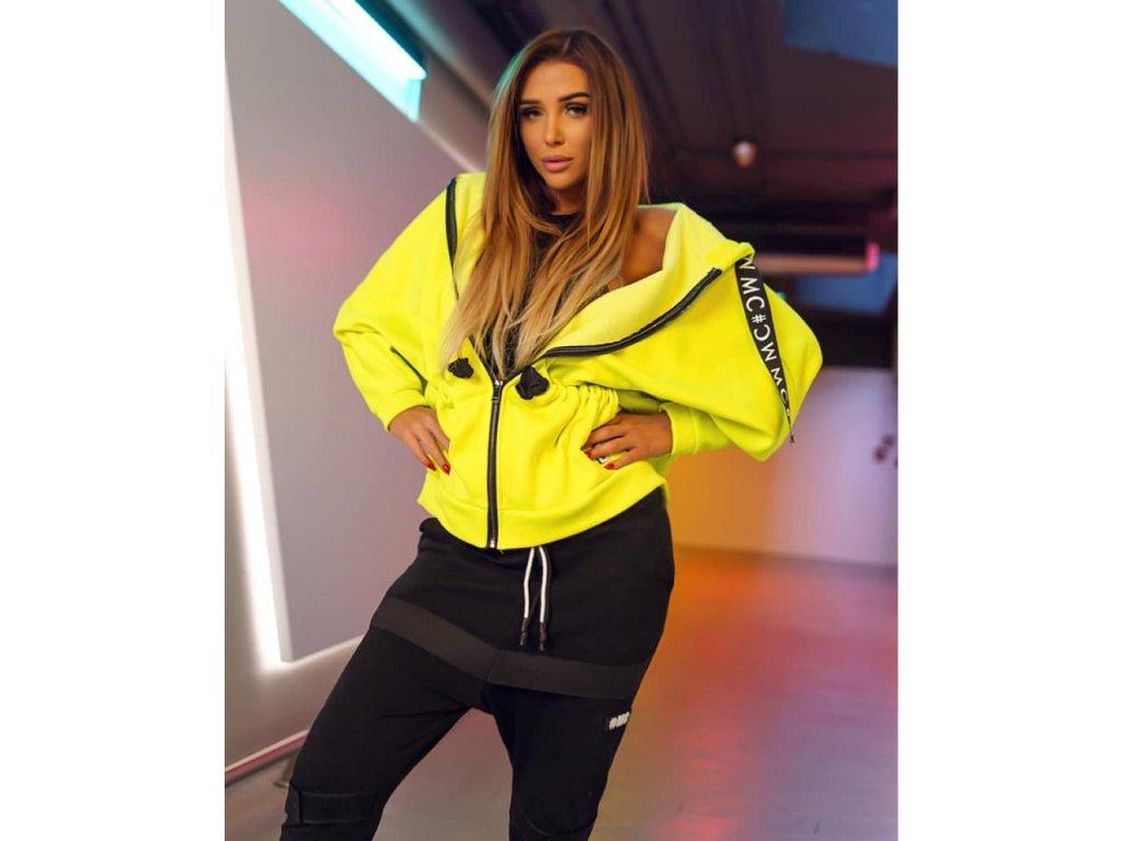 Fashionistka: MIKINA MC neon žlutá