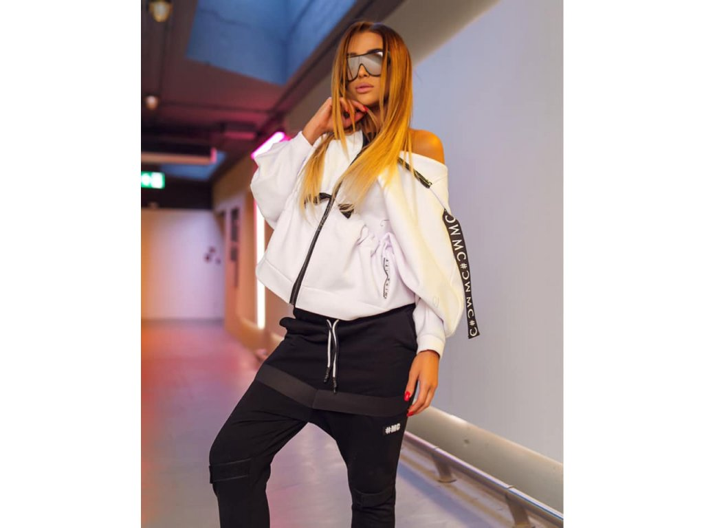 Fashionistka: MIKINA MC bílá