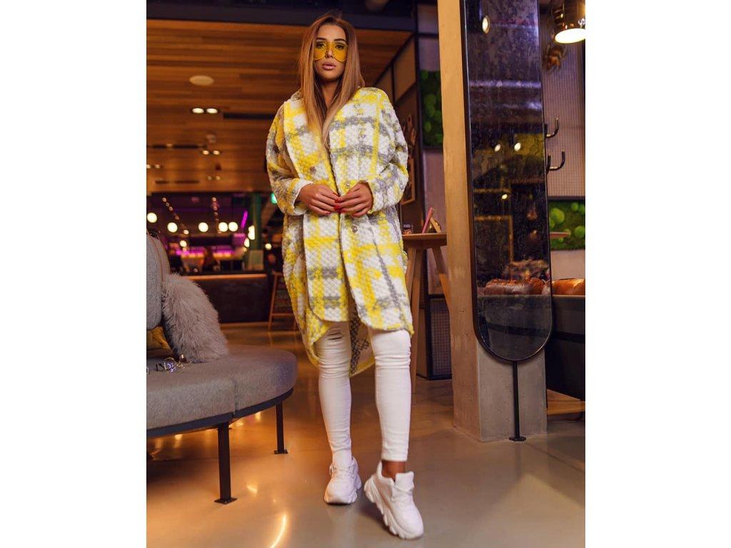 Fashionistka: KABÁT jarní žlutý
