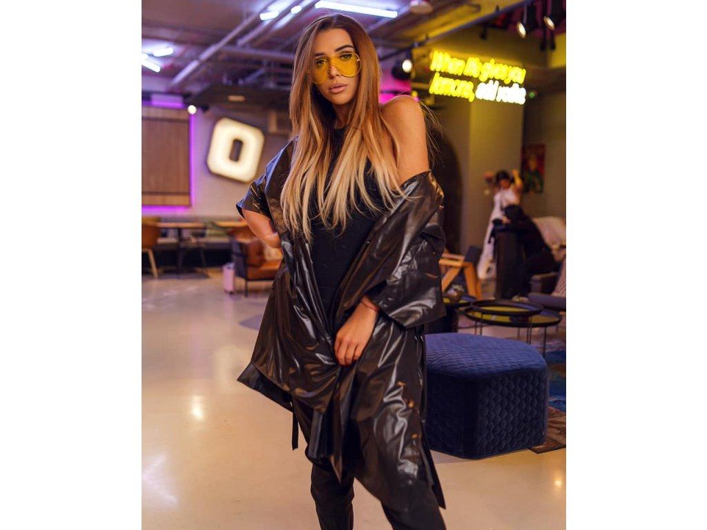 Fashionistka: KABÁT lehký jarní černý