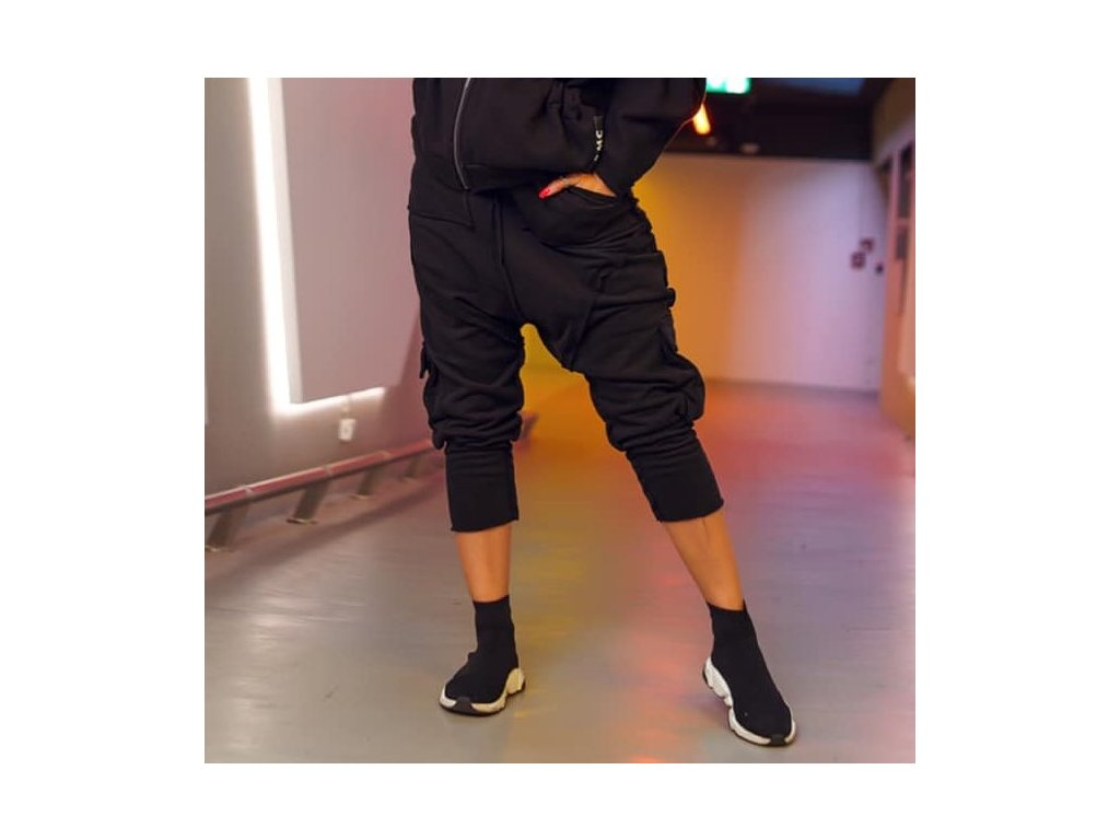 #MC black kalhoty