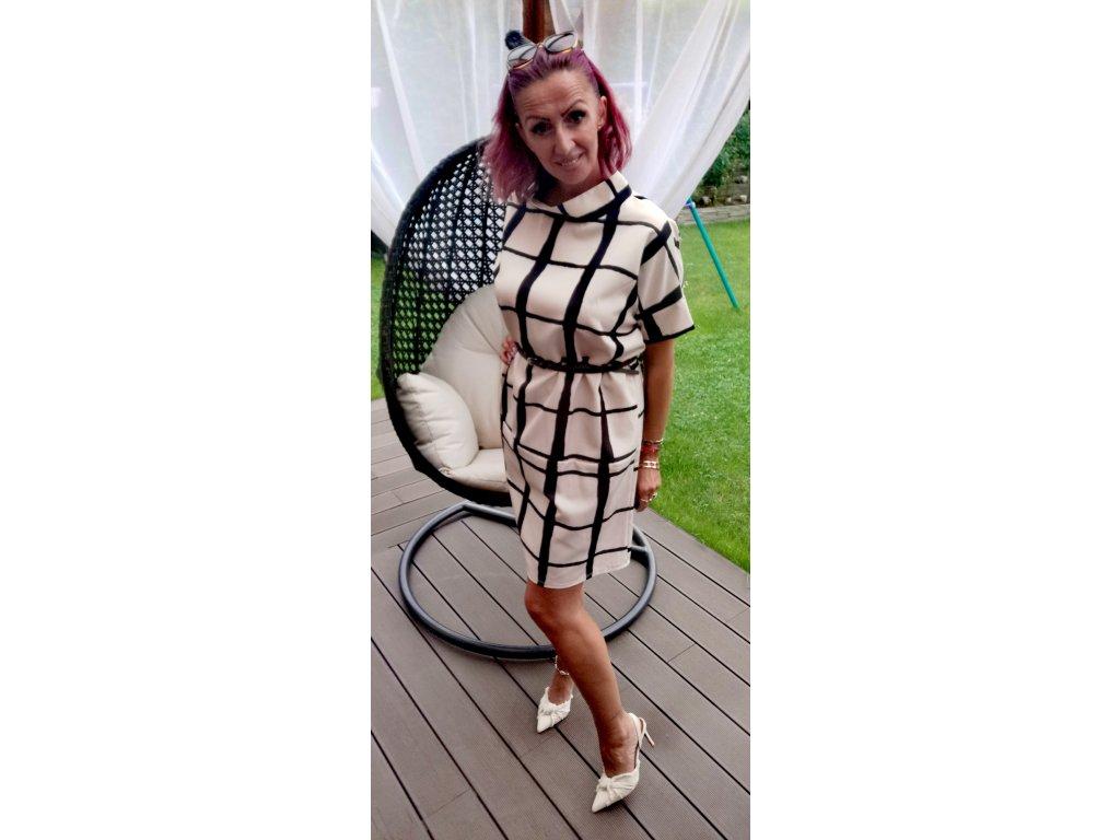 Fashionistka: ŠATY dámské LUMINA béžové