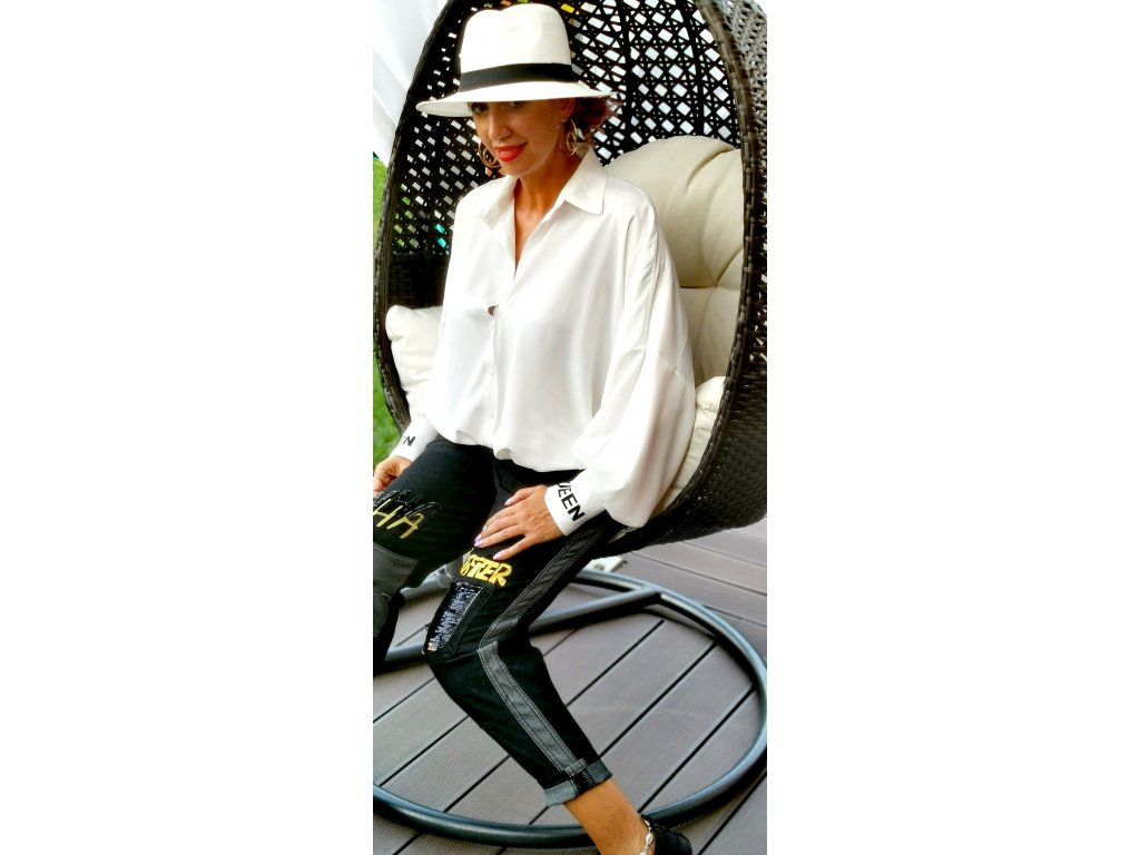 Fashionistka: KOŠILE QUEEN bílá