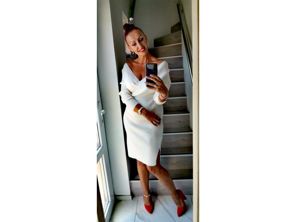 Šaty bílé by COCOMORE
