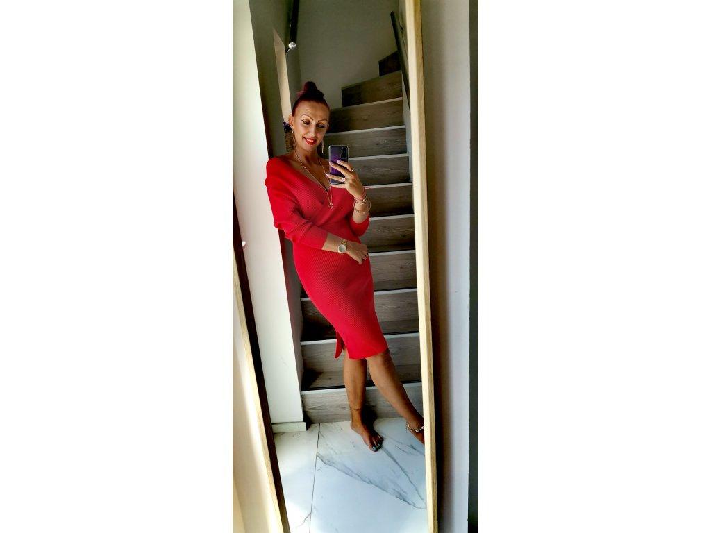 Fashionistka: ŠATY by COCOMORE červené