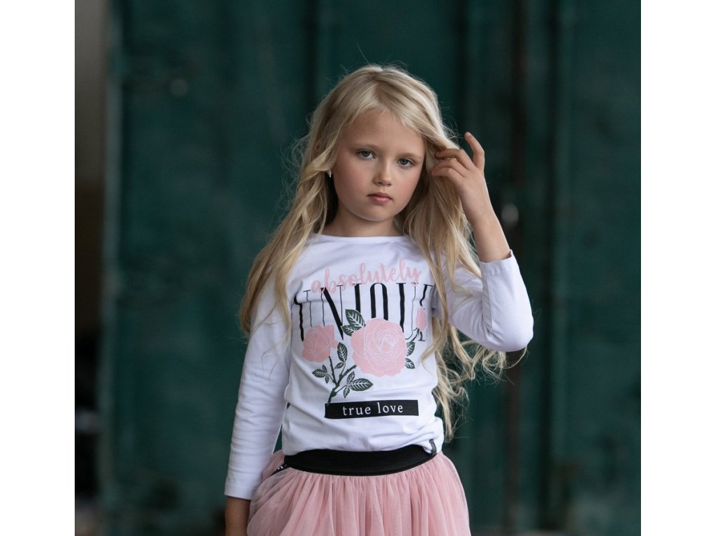 Fashionistka: HALENKA ALL FOR KIDS bílá