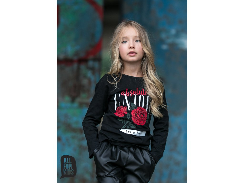 Fashionistka: HALENKA ALL FOR KIDS černá