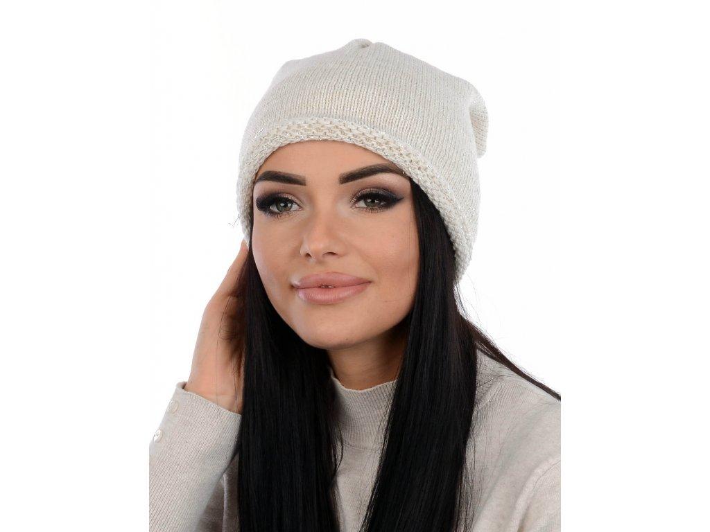 VOLAN čepice /bílá