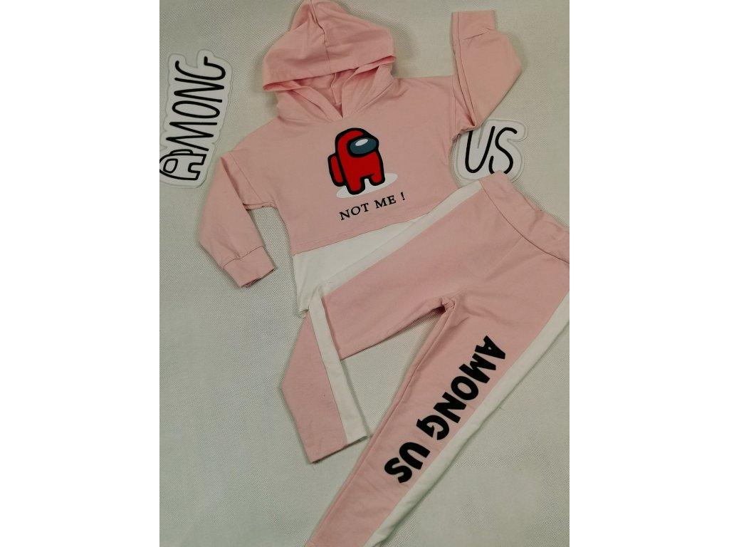 Fashionistka: SET AMONG US růžový