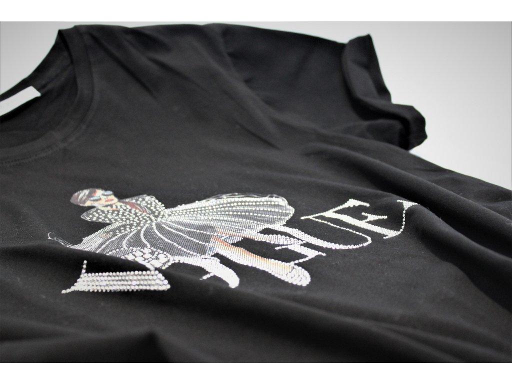 Fashionistka: TRIČKO s nápisem VOGUE černé