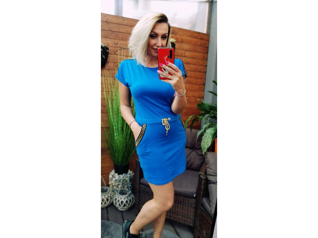 Sportovní šaty modré