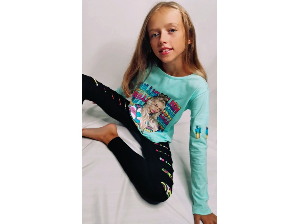 Fashionistka: Tričko dívčí BILLIE EILISH