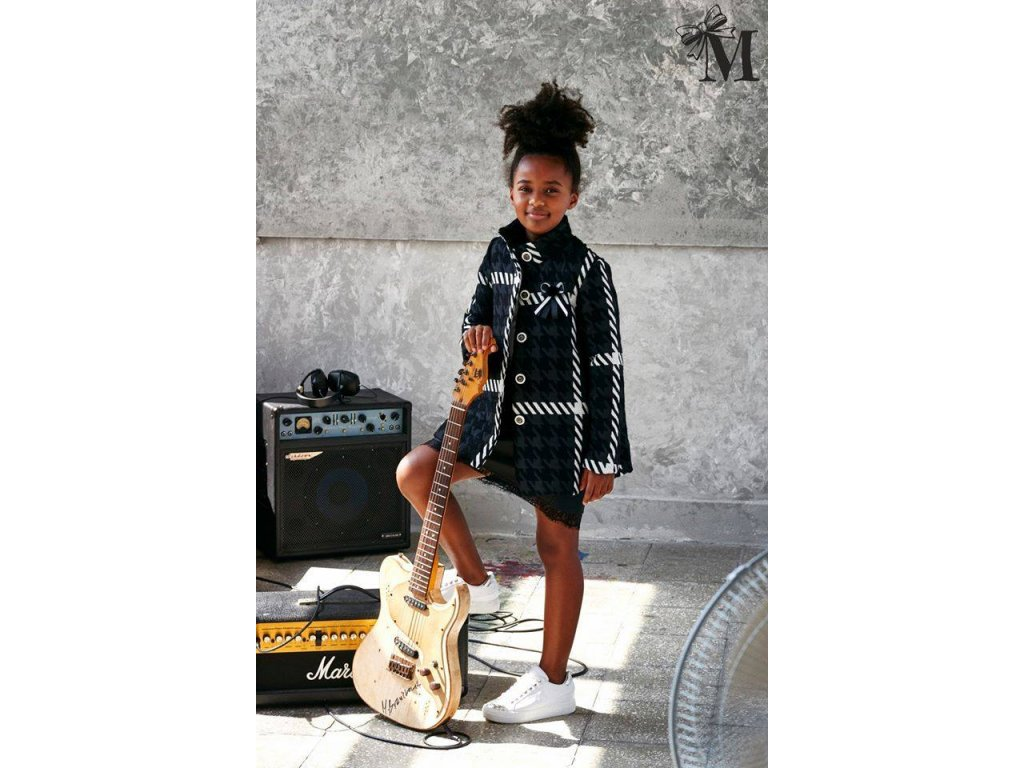 Fashionistka: KABÁT holčičí trendy černý