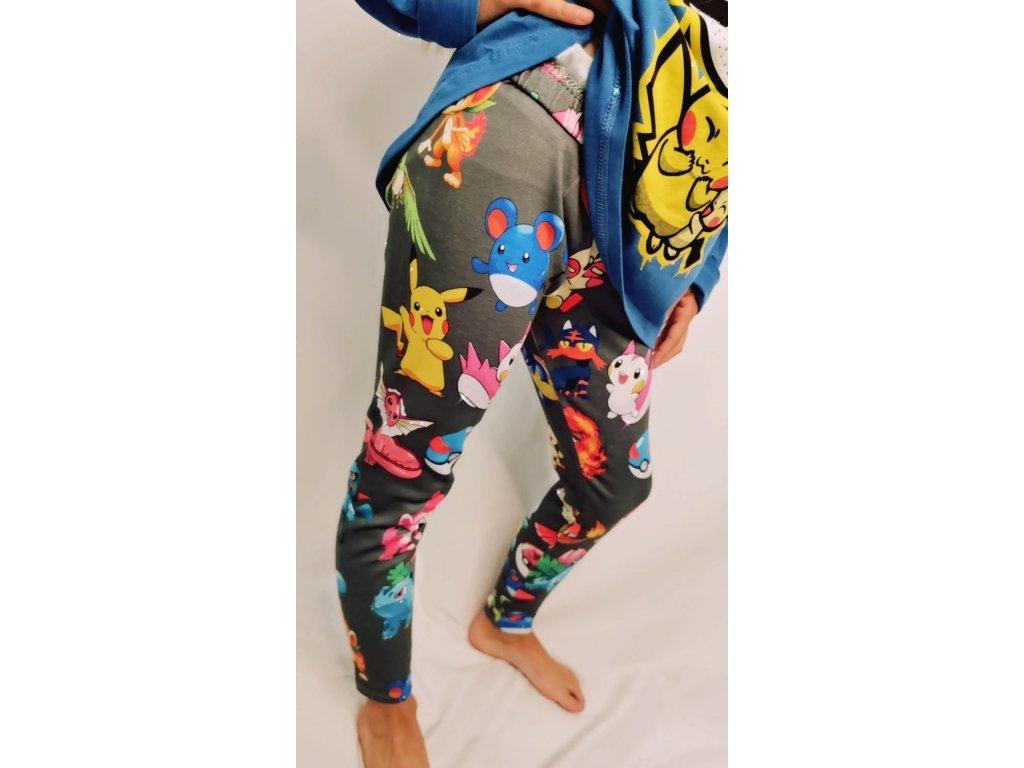 Fashionistka: LEGÍNY dívčí POKÉMON legíny