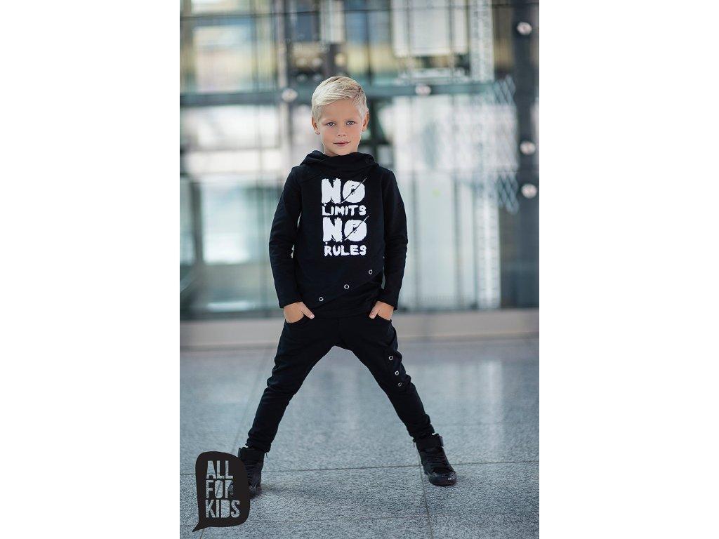 Fashionistka: SOUPRAVA klučičí ALL FOR KIDS černá