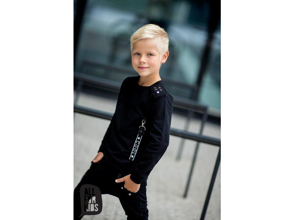 Fashionistka: MIKINA cool ALL FOR KIDS černá