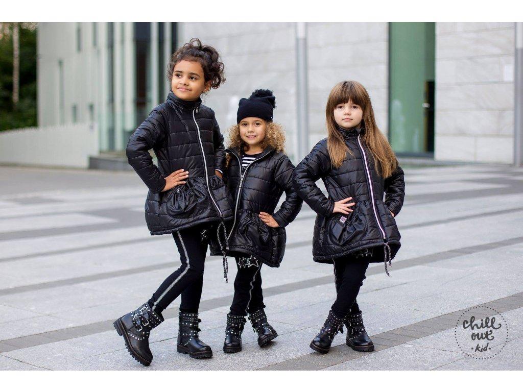 Fashionistka: BUNDA podzimní PRETTY černá