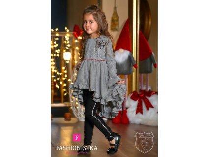 Fashionistka: ŠATY hispánské šedé dětské