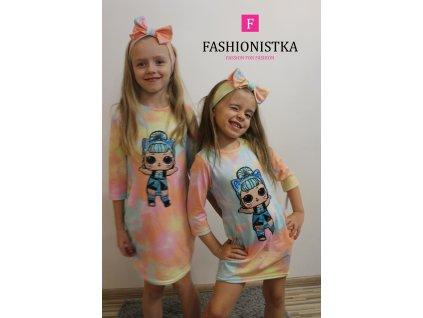 Fashionistka: TUKINKA dívčí LOL duhovaná