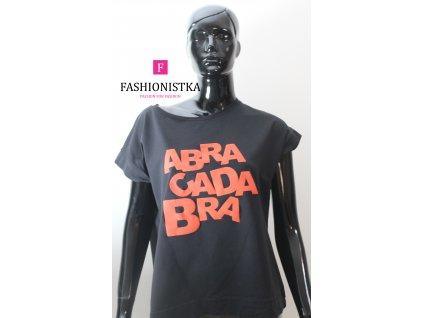 ABRACADABRA  černo/červené triko