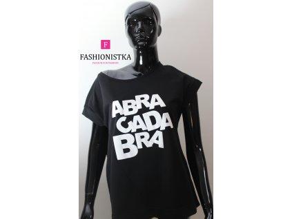 ABRACADABRA  černo/bílé  triko