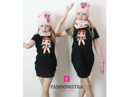 Fashionistka: TUNIKA dívčí LOL černá