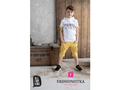 Fashionistka: SET letní ALL FOR KIDS žlutý
