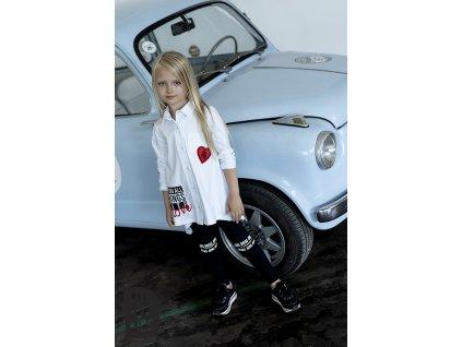 Fashionistka: KOŠILE atypická GIRLS BOSS bílá