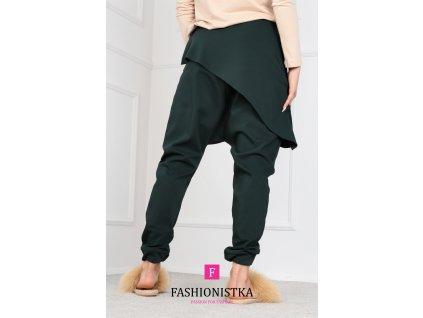 Fashionistka: KALHOTY ONE zelené