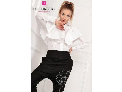Fashionistka: HALENKA MOTÝL bílá