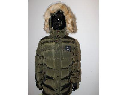 Fashionistka: BUNDA zimní zelená pro kluky