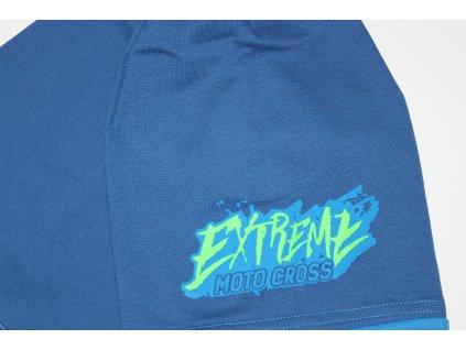 Fashionistka: SET čepice s nákrčníkem EXTREME modrá