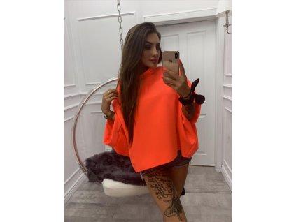 HALENKA trendy neon oranžová