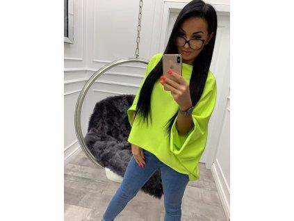 Fashionistka: HALENKA trendy neon zelená