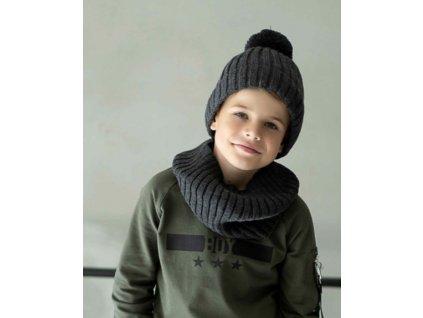 GRAPHITE termo zimní čepice + nákrčník