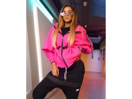 Fashionistka: MIKINA MC neon růžová