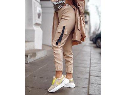 Fashionistka: KALHOTY MISS CITY béžové