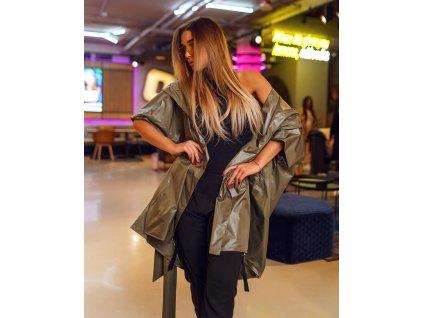 Fashionistka: KABÁT lehký jarní zelený