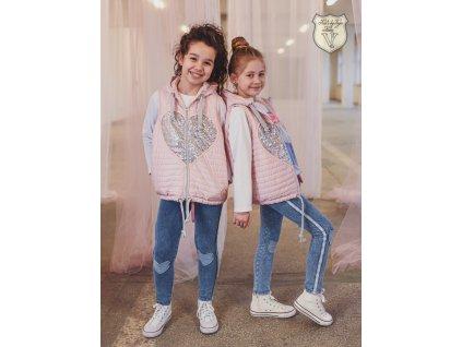 Fashionistka: VESTA heart KIDS by VOGA ITALIA růžová