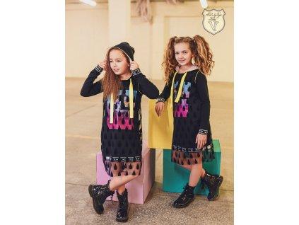 Fashionistka: ŠATY s kapucí KIDS by VOGA ITALIA
