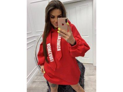 Fashionistka: MIKINA ASWEARE červená