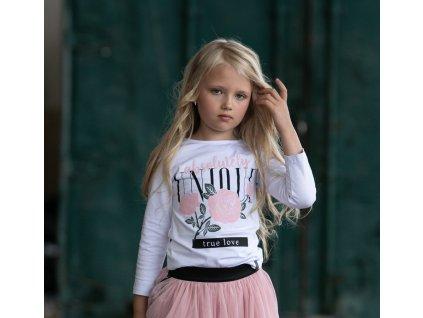 Fashionistka: HALENKA ALL FOR KIDS bílá