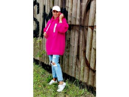 Fashionistka: MIKINA ASWEARE růžová