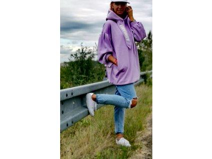 ASWEARE lila mikina