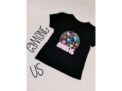AMONG US tričko černé