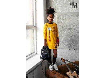 TUNIKA dívčí MALAMI žlutá